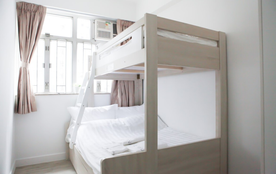 Bunk bed in Fortress Hill 2 bedrooms apartment