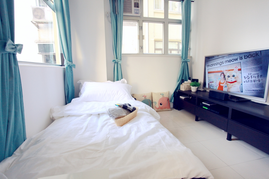 2 bedrooms apartment in Causeway Bay with sofa bed, tv