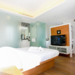 Big Studio serviced apartment in Fortress Hill with modern furnishing